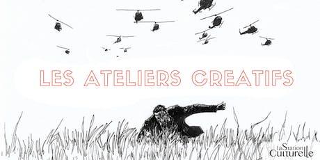 Les ateliers créatifs - Adultes billets