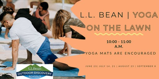 Work Out on the Lawn- Yoga with L.L. Bean