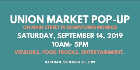 Union Market Pop Up tickets