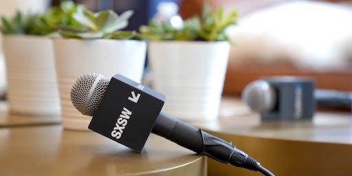 San Antonio: SXSW 2020 & PanelPicker Best Practices Meet Up