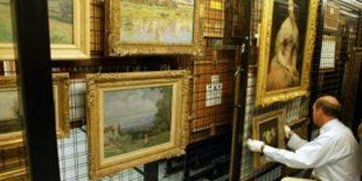 Behind the Scenes at  Southampton  City Art Gallery