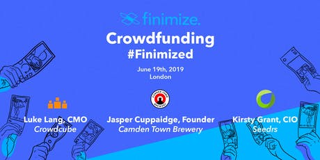 Crowdfunding #Finimized tickets