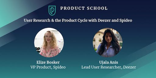 User Research & the Product Cycle with Deezer and Spideo
