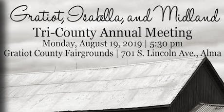 2019 Joint County Annual - Gratiot, Isabella & Midland Counties tickets