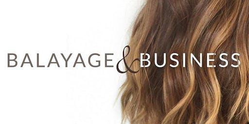 Balayage and Business