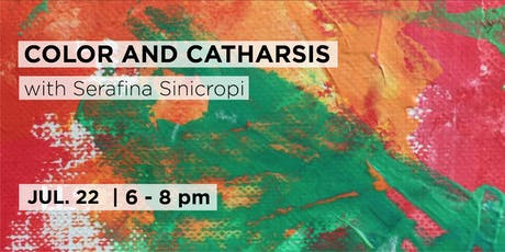 Color and Catharsis: Painting with Palette Knives with Serafina Sinicropi tickets