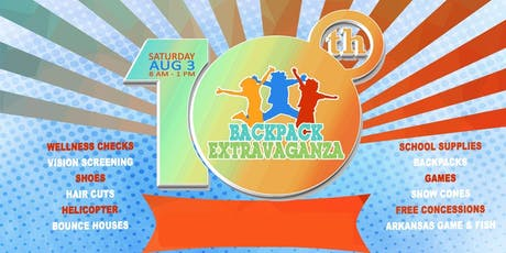 2019 Backpack Extravaganza tickets