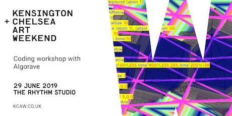 Music Coding Workshop with Algorave tickets