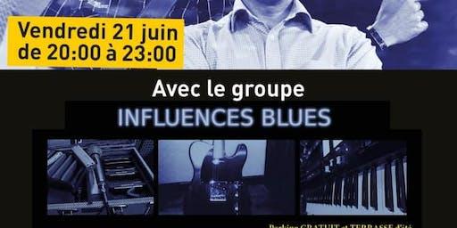 """Concert de blues avec """"Influences Blues"""" / Fête de la musique à Massy"""