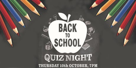 Manorlands Back to School Quiz 2019 tickets