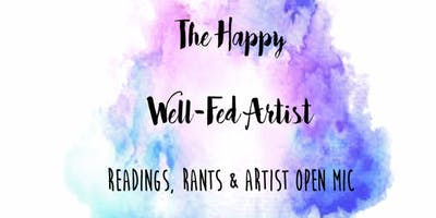 The Happy, Well-Fed Artist Book Tour with Katie Curtin