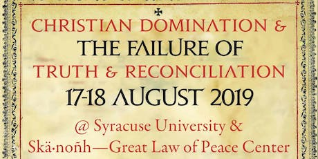 Christian Domination and the Failure of 'Truth and Reconciliation' tickets