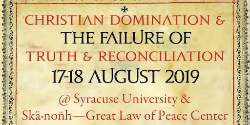 Christian Domination and the Failure of 'Truth and Reconciliation'