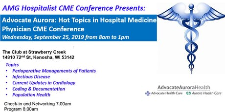 AMG Hospitalist CME Conference Presents: Advocate Aurora Hospitalist Conference  tickets
