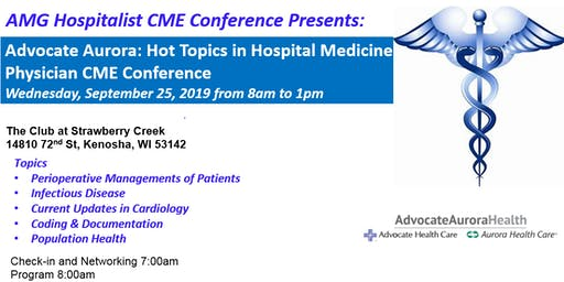 AMG Hospitalist CME Conference Presents: Advocate Aurora Hospitalist Conference