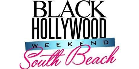 T-SHIRTS FOR THE OFFICIAL BLACK HOLLYWOOD SOUTH BEACH WEEKEND
