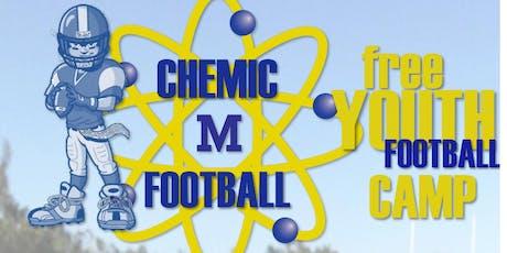 Midland Chemics 2019 FREE Youth Football Camp tickets