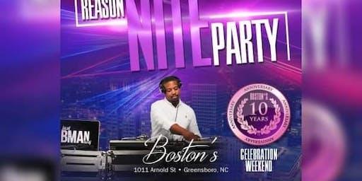 No Reason Nite Party