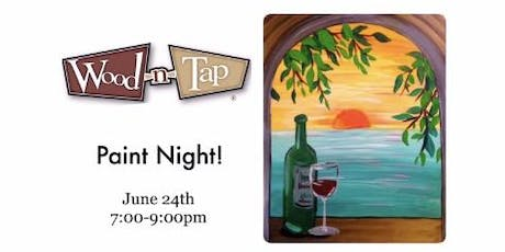 Paint Night at Wood n Tap 6/24 tickets