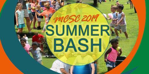 MCSC Summer Bash