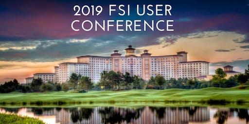 2019 FSI Pre-Conference Sessions