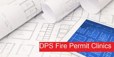 Fire and Code Compliance (FCC) Permit Clinic tickets