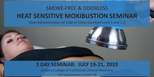 Smoke-free & Odorless Toronto Heat Sensitive Moxibustion 3 day workshop 净烟无味 多伦多热敏灸核心技术初级班