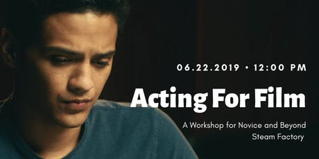 Acting for Film tickets
