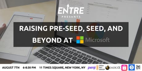 Raising Pre-seed, Seed, and Beyond at Microsoft tickets