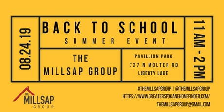 The Millsap Group Back to School Event tickets