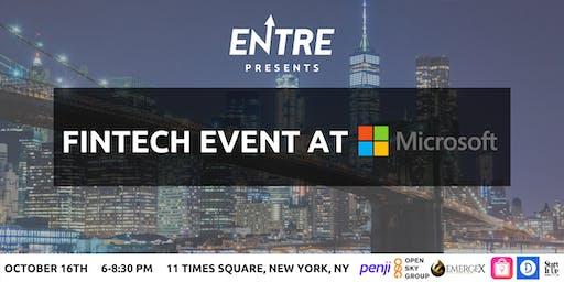 Fintech Event at Microsoft