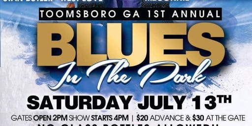 TOOMSBORO GA FIRST ANNUAL BLUES FESTIVAL