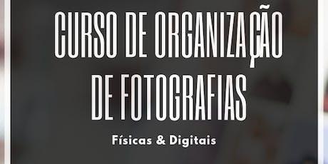 Curso de Organização de Fotografias - Goiânia ingressos