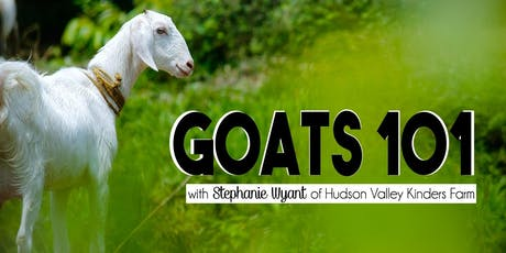 Goats 101 Workshop tickets