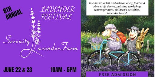 8th Annual Lavender Festival
