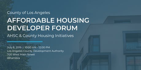 Affordable Housing Developer Forum tickets