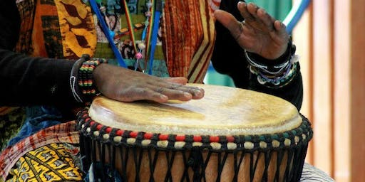 African Activities - drumming \ The Art House \ June 2019