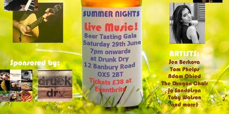 Summer Nights Craft Beer Tasting Gala - In Aid of The Oxford Children's Hospital tickets