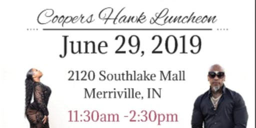 Coopers Hawk Luncheon w/Shilee King & Paradise By Ari
