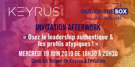 Invitation Afterwork Out of the Box  billets