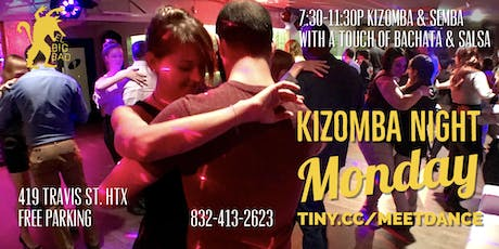Free Kizomba Monday Afro-Latin Social @ El Big Bad 08/12 tickets