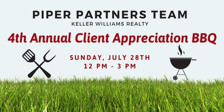 The Piper Partners Team 4th Annual Client Appreciation BBQ tickets
