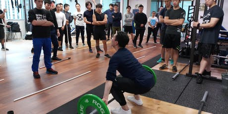 "Olympic Weightlifting Courses by Lawrence Wan ""The tickets"