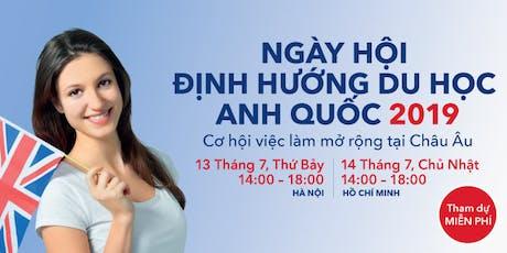 Ngày Hội Định Hướng Du Học Anh Quốc 2019 tại Hà Nội tickets