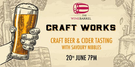 Craft Works - Craft Beer tasting tickets