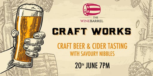 Craft Works - Craft Beer tasting