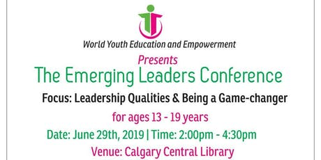 The Emerging Leaders Conference tickets