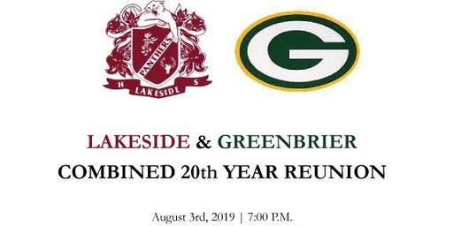 Lakeside & Greenbrier Class of '99 Combined 20 yr Reunion