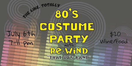 The Like, Totally 80's Costume Party tickets