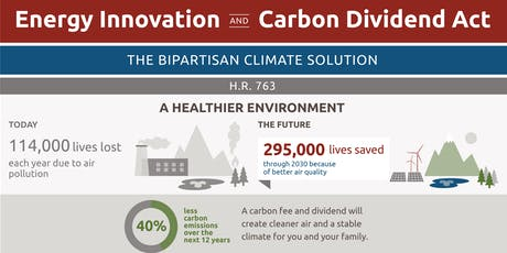Energy Innovation and Carbon Dividend Act: Making the Right Thing Easy tickets
